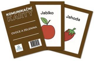 Komunikační karty Ovoce a zelenina - Staněk Martin [Karty]